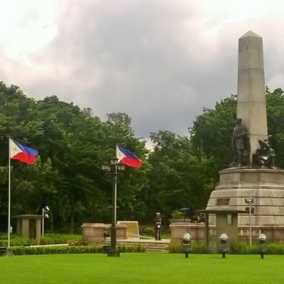 Rizal Park to commemorate the national hero Jose Rizal