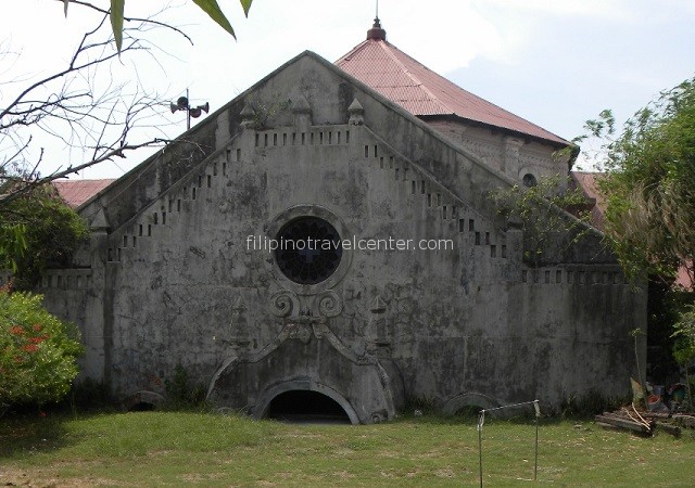 Bacalor sunken church