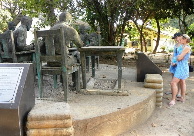 Balanga surrender site Gen King