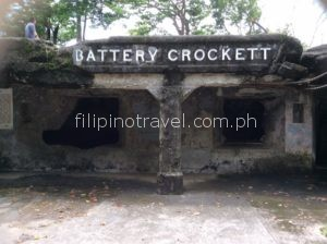 corregidor island manila daytour-battery-crocket