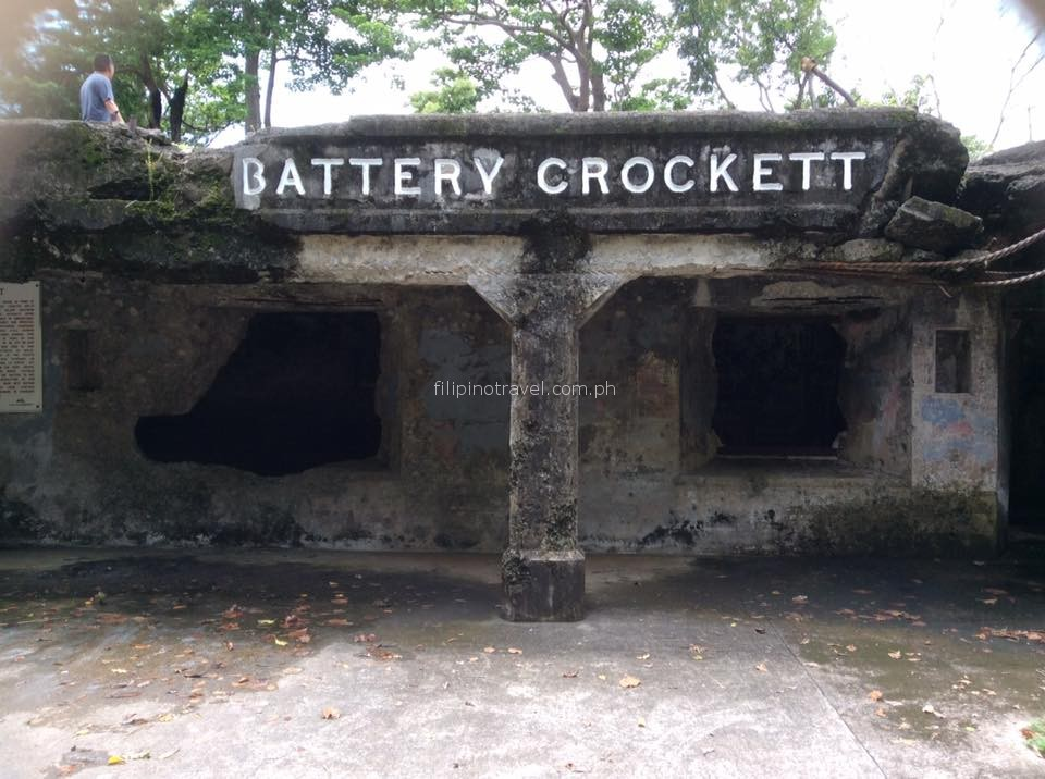 corregidor island manila daytour-battery-crocket