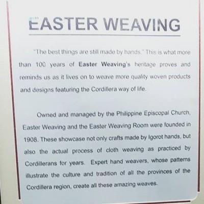 Easter weaving Baguio photo courtesy GJ_3