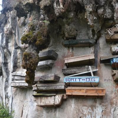 Hanging Coffins in Sagada, Philippines