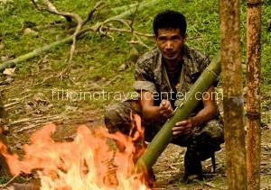 Jest Camp Subic survival skills demonstration