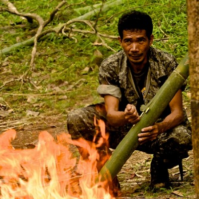 Jest Camp Subic survival skills demonstration