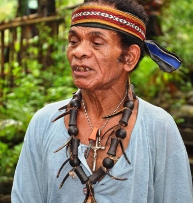 Mr Kasuy of the Aeta tribe