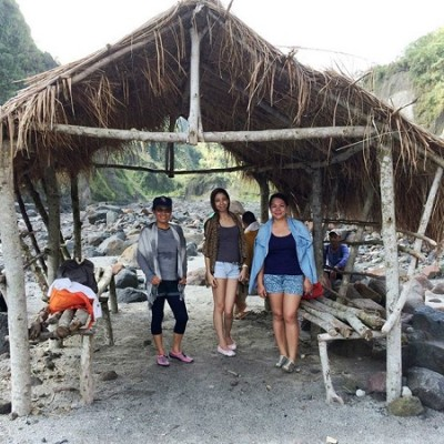Mt Pinatubo local shed made by indigenous people