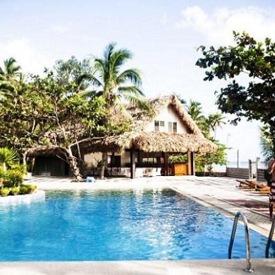 Pool accommodation Donsol