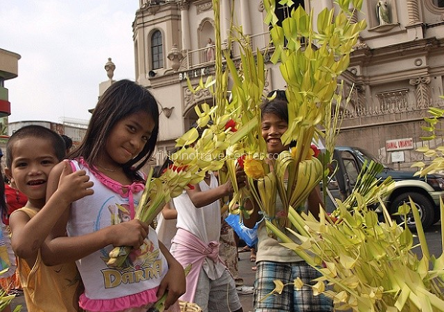 Quiapo Church Easter preparations