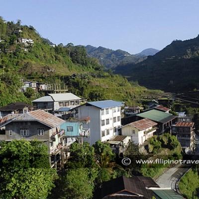 Sagada Town view
