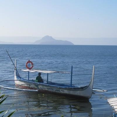 Taal Trekking Talisay boat ride