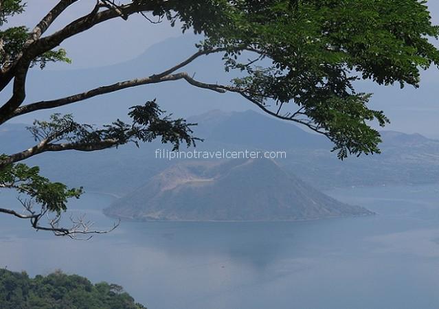 Tagaytay Ridge view of Taal volcano