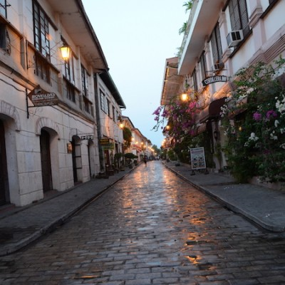 Vigan - heritage village - around 6 in the morning