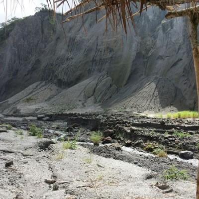 lahar Mt Pinatubo, Philippines