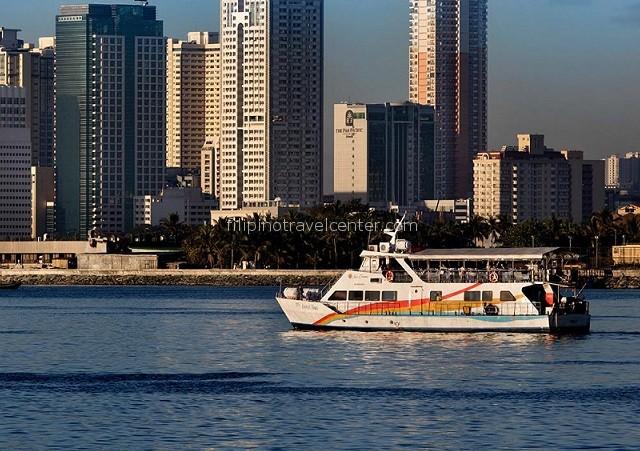 sunset cruise Manila Bay