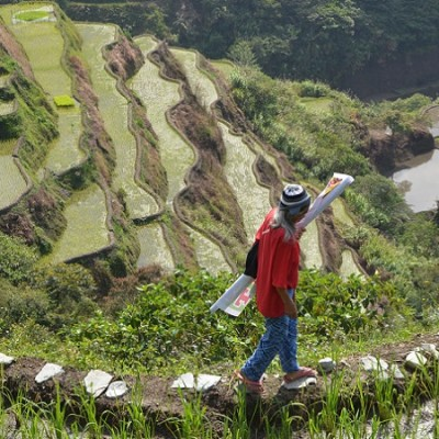 viewpoint Rice Terraces North Luzon Philippines