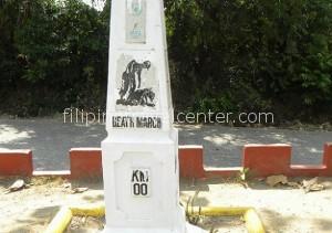 zero km marker death marker bagac