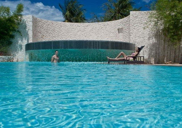 Allegro pool Maribago Blue water Cebu island Philippines