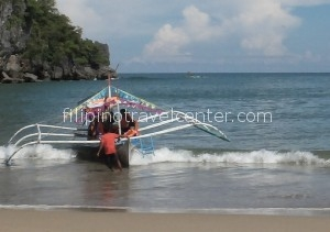 Sabang beach to Underground River