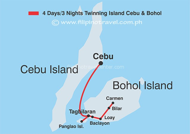 Twinning Islands Cebu & Bohol