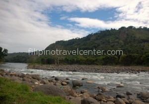 Cagayan River towards end of season with low waterlevels
