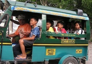 Camiguin island local transport