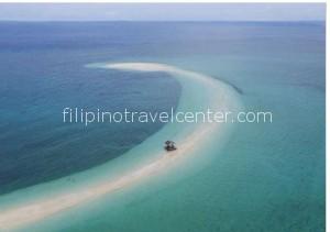 Camiquin island white sand bar
