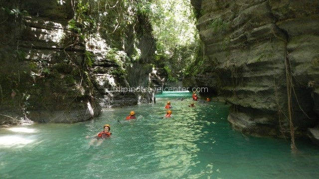 River climbing Cebu