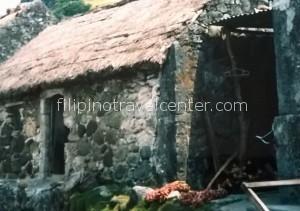 Sabtang island Batanes traditional stone house