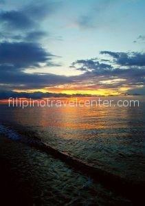 fantastic sunset in Camiguin island