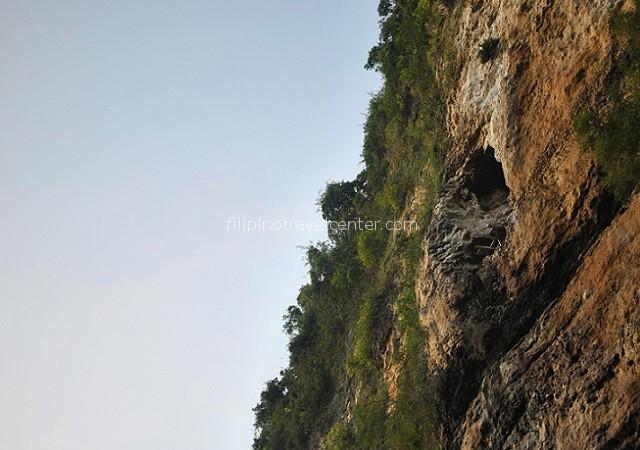 he Pinacanauan River Cave