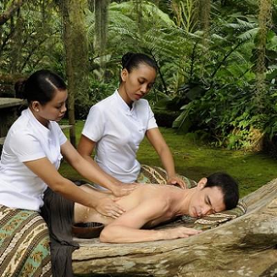 Four Hands Yin Yang Puri