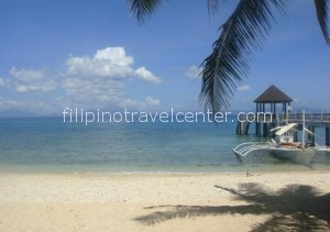 Ticao island pier resort Philippines