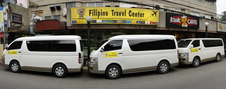 Philippines car rental with driver