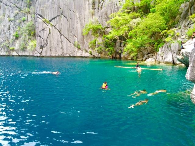 Cayangan lake Coron Busuanga Palawan