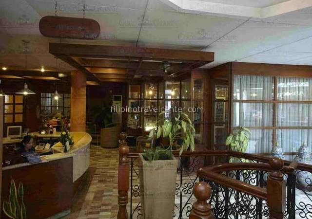 Coco Grande hoptel Foyer front desk