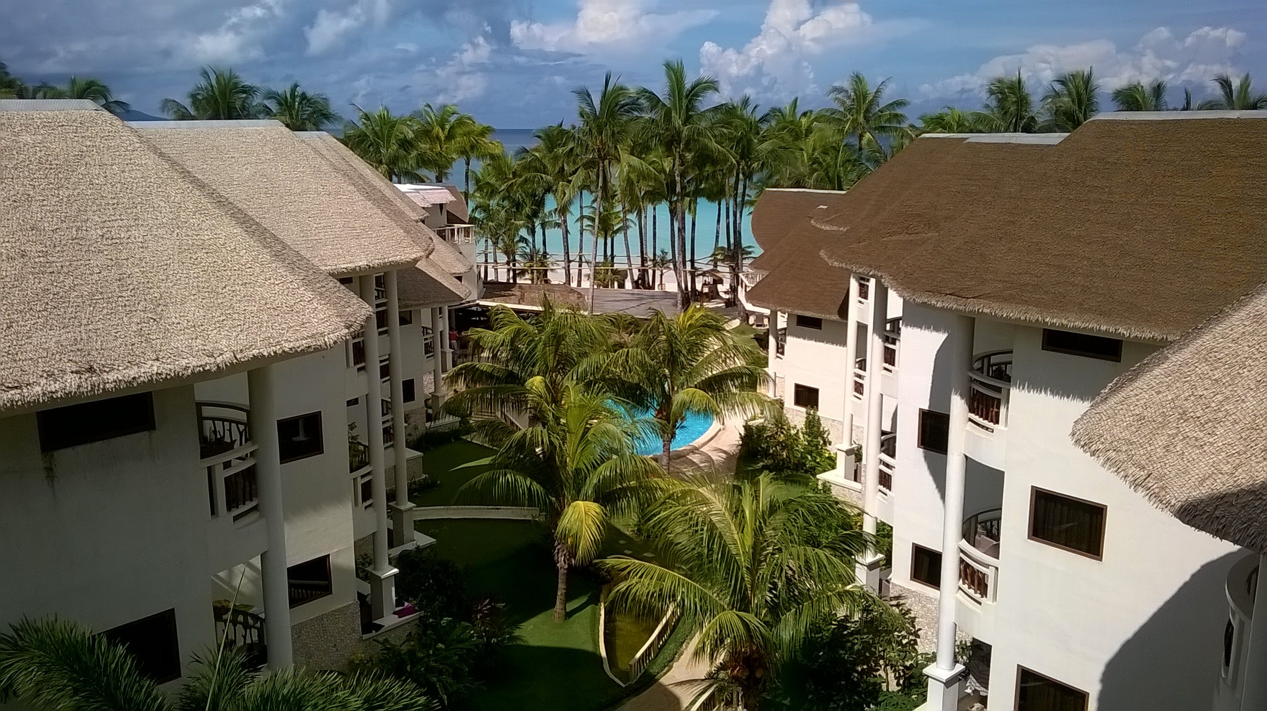 View from 4th fl Ambassador in Paradise Boracay deluxe accommodation