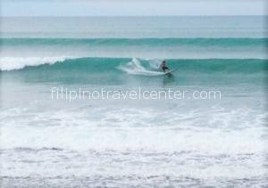 baler surfer enjoying the waves