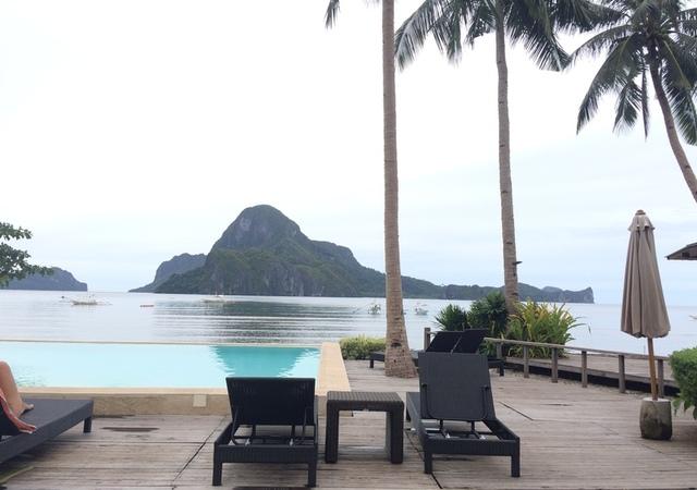 Cadlao Resort Beach view
