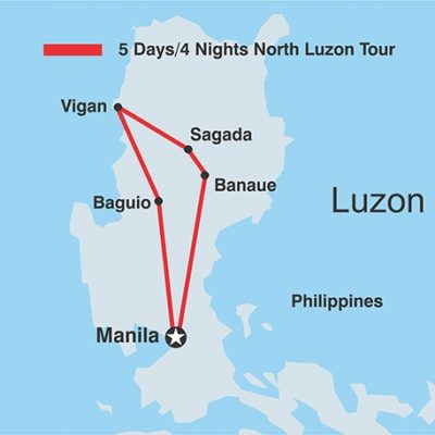 5D4N North Luzon Tour w vigan