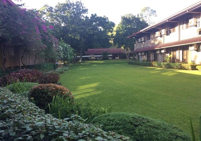 Montebello Garden area