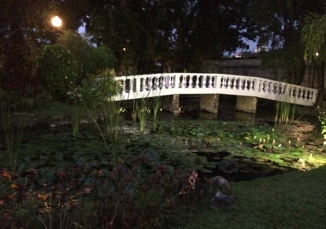Montebello bridge garden