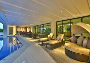 Best Western Ivy Wall Palawan Pool Couch