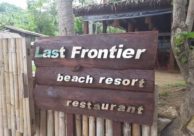 Last frontier facade