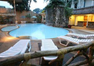 Legend Hotel Palawan Pool Bench