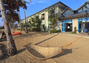 Microtel Palawan Sands iwth hammock