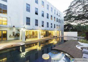 canvas hotel palawan pool area