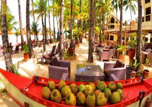 Ambassador in Paradise dining area