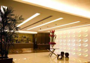 Bay leaf Hotel Reception area