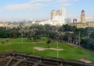 Bayleaf view of Intramuros